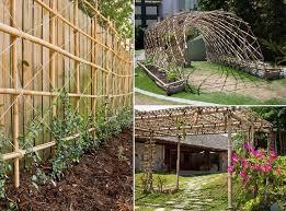 Trellis Construction Bamboo In Construction