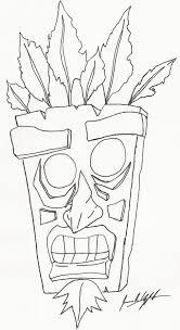 Aku Aku By Infrafan On Deviantart Crash Bandicoot Coloring Pages