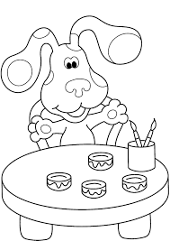 thanksgiving pictures to print and color blues clues coloring pages getcoloringpages com