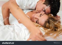 sensual foreplay by couple bedroom stock photo 385297153 sensual foreplay by couple in bedroom