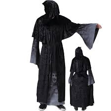 Grim Reaper Halloween Costumes Adults Cheap Reaper Halloween Costume Aliexpress