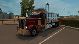 dump truck american truck simulator peterbilt 379 dump truck delivery youtube
