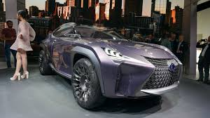 lexus jeep 2016 lexus ux concept turns the suv inside out roadshow