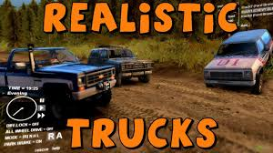 Old Ford Truck Games - spin tires realistic trucks 1979 silverado and ford bronco