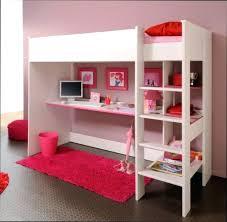 chambre fille avec lit mezzanine lit mezzanine fille avec bureau chambre fille decoration chambre