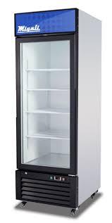 migali 1 glass door merchandiser refrigerator c23rm 1195 coolers