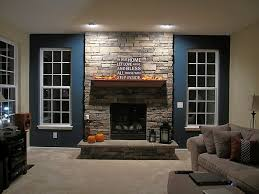 stone wall fireplace wooden fireplace mantels with natural stone wall and sofa http