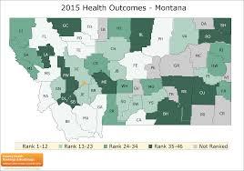 County Map Of Montana by Montana Rankings Data County Health Rankings U0026 Roadmaps
