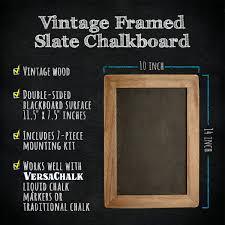 Decorative Chalkboard For Home Vintage Framed Slate Kitchen Chalkboard 10