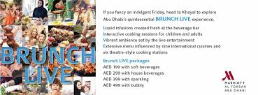 list of international cuisines friday brunch khayal the capital list