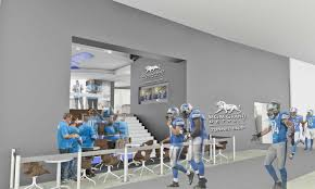 Detroit Lions Home Decor by Sneak Peek Mgm Grand Detroit Tunnel Club Will Be The Nfl U0027s Most