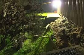 Sinkhole In Backyard Residents Allowed To Return Home After Sinkhole Opens In Backyard