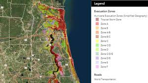 Map Jacksonville Florida by Know Your Flood Evacuation Zone