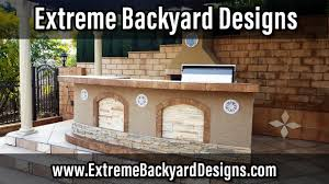 Orange County BBQ Islands Traeger Grills Extreme Backyard - Extreme backyard designs