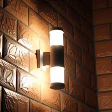 outdoor double wall light ikea wall light outdoor aluminum wall l brief double slider up
