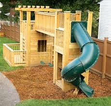 Best DIY Playground Ideas Images On Pinterest Playground - Backyard playground designs