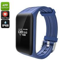 app health bracelet images Wholesale k1 bluetooth smart bracelet from china jpg