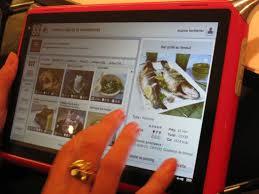 tablette recette de cuisine qooq la tablette tactile qui réinvente le livre de cuisine