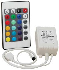 Led Light Strip Controllers by Rgb Controller For Led Tape With Ir Remote Control Christmas Light