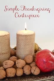 simple thanksgiving centerpiece spark