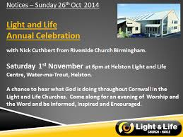 light and life church light life annual celebration hayle light and life