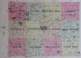 Illinois Township Map by 1908 County And Township Maps Williamson County Illinois