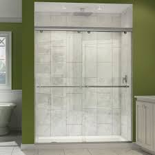 dreamline charisma frameless bypass sliding shower door and