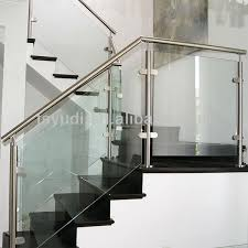 stainless steel glass balcony and stair railing buy stair