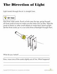 light energy experiments 4th grade learning ideas grades k 8 does light travel in a straight line