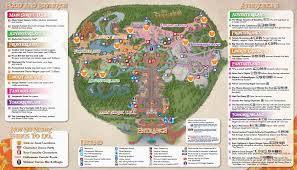 Walt Disney World Maps by Mickey U0027s Not So Scary Halloween Party Park Map Photos Wdw