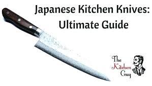 custom japanese kitchen knives types of kitchen knives close up colorful kitchen knives with