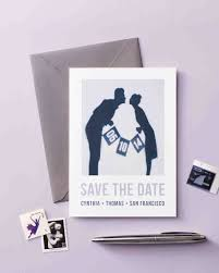 save the date halloween 30 diy save the dates to kick off your wedding martha stewart