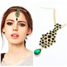 hair accessories india factory with 10 years experience wholesale luxurious forehead