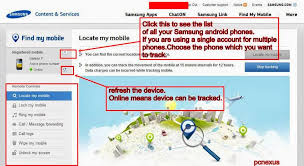 locate my android phone how to locate and track stolen or lost samsung android phone pcnexus