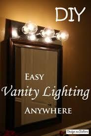 plug in vanity light strip you re so vain vanities apartments and room