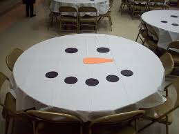 super easy table decorations for my scout christmas party