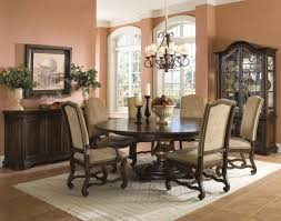 dining room 2017 brown dining room table with white candles with