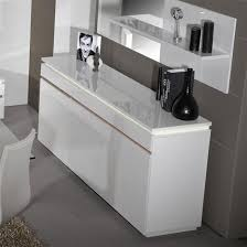 White Gloss Sideboards Elisa Sideboard In White High Gloss With 3 Doors And