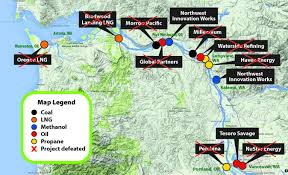 Map Of Oregon And Washington State by Breaking News On Coal Exports Columbia Riverkeeper Breaking News