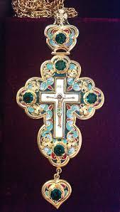 pectoral crosses ukrainian orthodox church of the usa pectoral cross