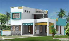 new villa exterior design feet kerala home house plans 15369