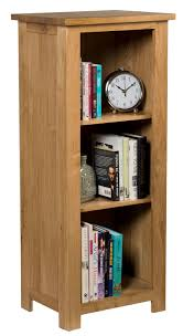Narrow Bookcases Uk by Waverly Oak Small Narrow Bookcase With 3 Shelves Hallowood