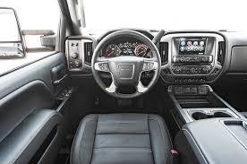 Gmc Sierra 2015 Interior Semi Lux Showdown Silverado High Country Vs Sierra Denali 2500hd