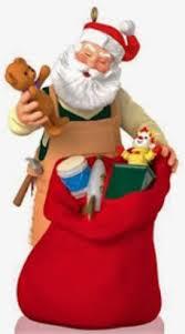 hallmark keepsake ornaments toymaker santa keepsake caboose
