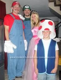 Peach Halloween Costume Princess Peach Super Mario 3 Couples Halloween Costumes