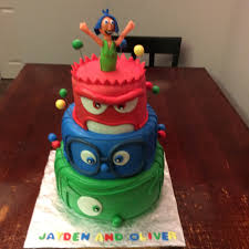 inside out cakes larry the cake inside out birthday cake