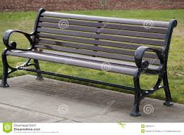 Wooden Park Bench Wooden Bench In Park Royalty Free Stock Photography Image 29957517