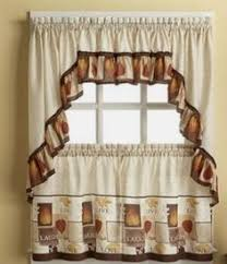 Apple Curtains For Kitchen by Interiors By Design 3pc Kitchen Cafe Apple Curtain Tier Swag Set