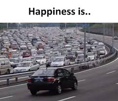 Traffic Meme - happiness is funny traffic photo mastimaster com