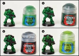 tutorial how to paint salamanders space marines tale of painters
